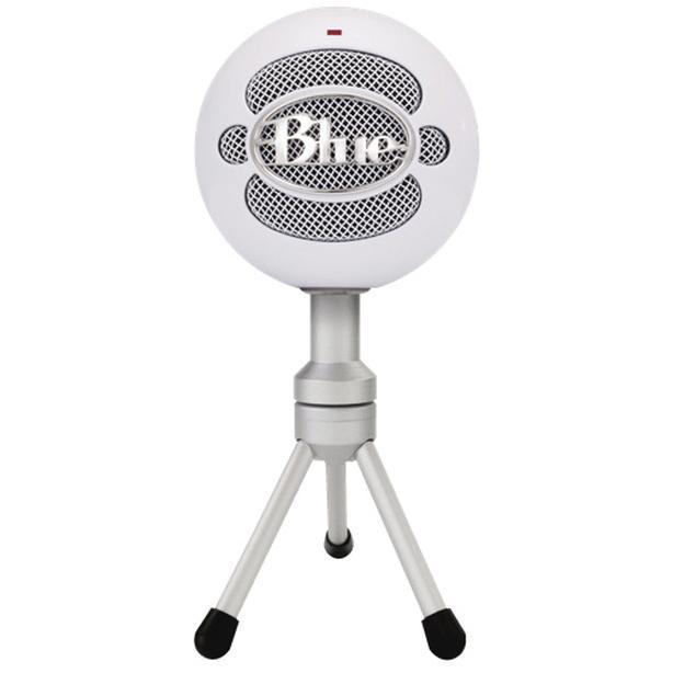 Microphone Blue Snowball White