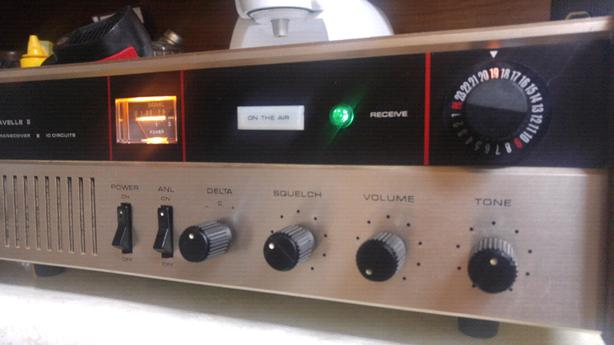 Courier Caravelle CB Base Radio - 50.00 FIRM