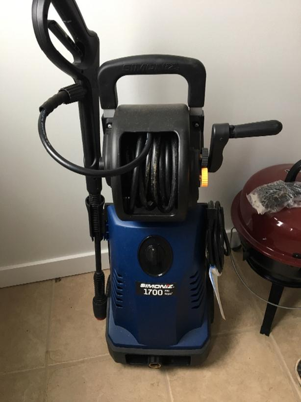 power washer (used once)
