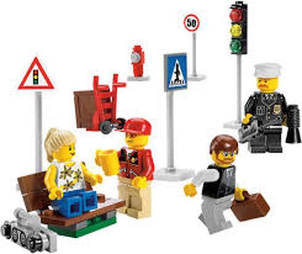 LEGO City mini figure collection, complete, no box