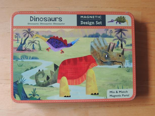 Mud Puppy Magnetic dinosaurs, excellent complete condition