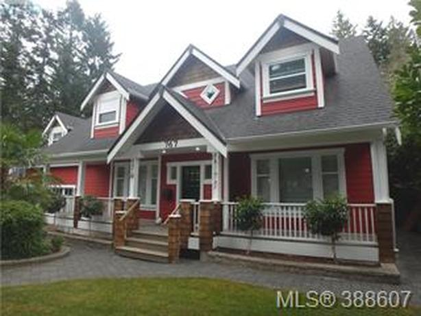 CORDOVA BAY CUSTOM WITH DETACHED HOME OFFICE CABIN