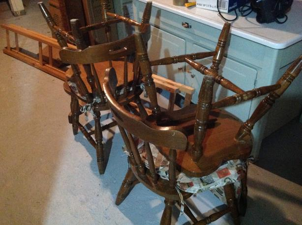 FREE:kitchen chairs