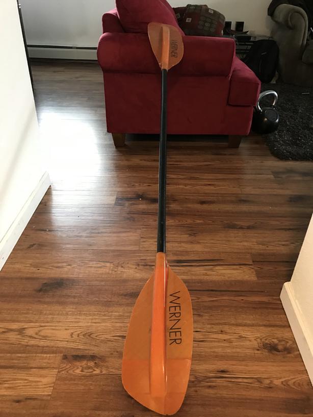 WERNER High Performance Kayak Paddle