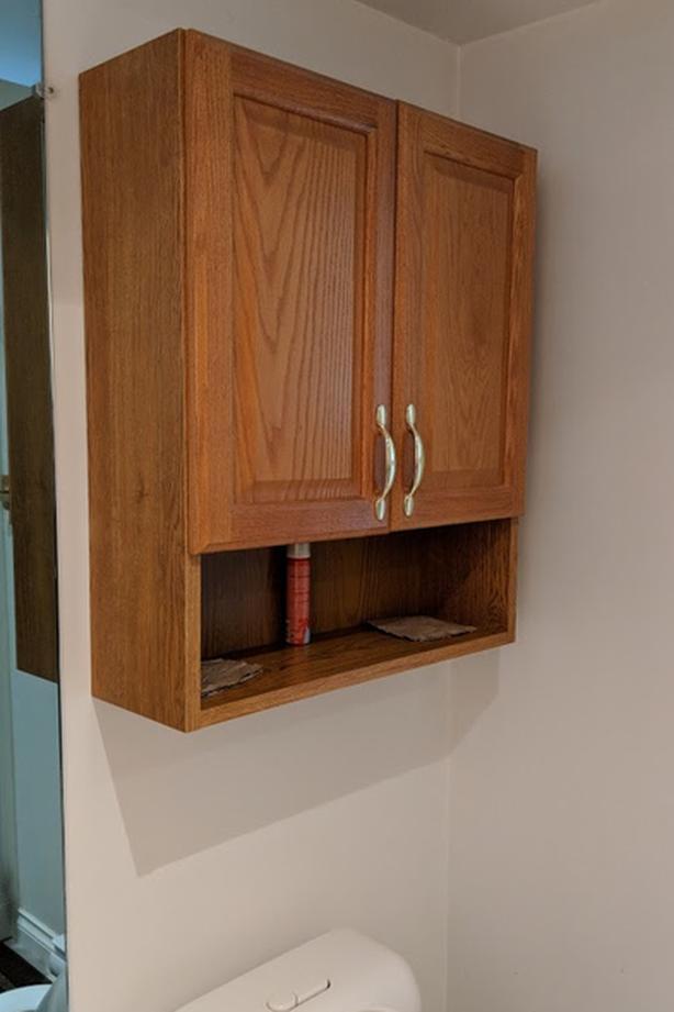 Nice oak Bathroom medicine cabinet