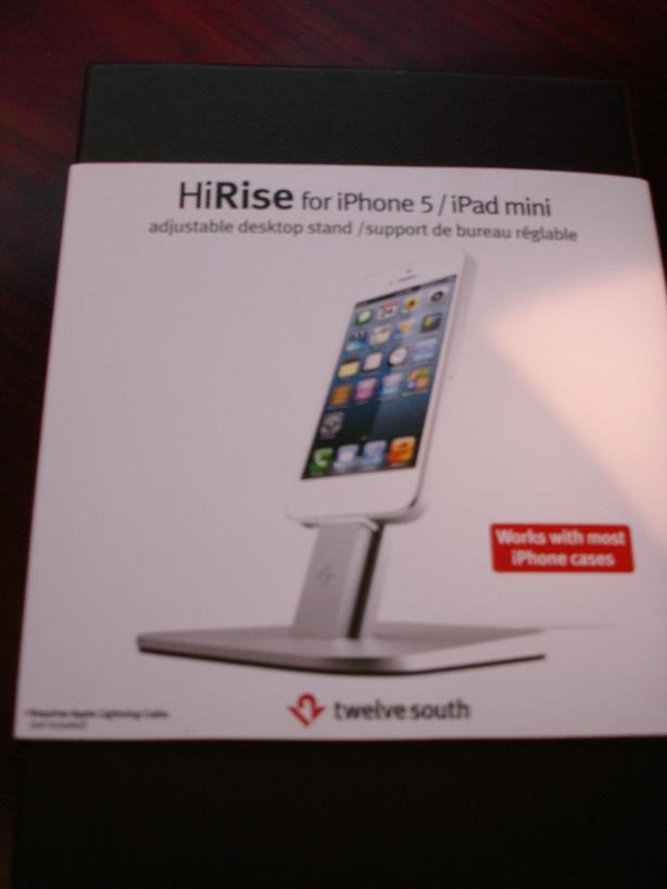 HiRise adjustable desktop stand
