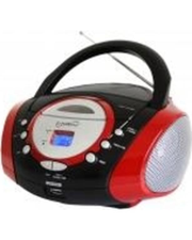 Electrohome Portable Stereo AM/FM Radio & CD Player