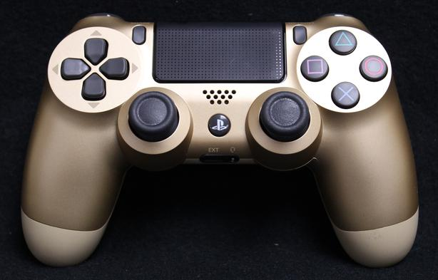 I-13415 GOLD Sony Playstation 4 (PS4) Wireless Controller