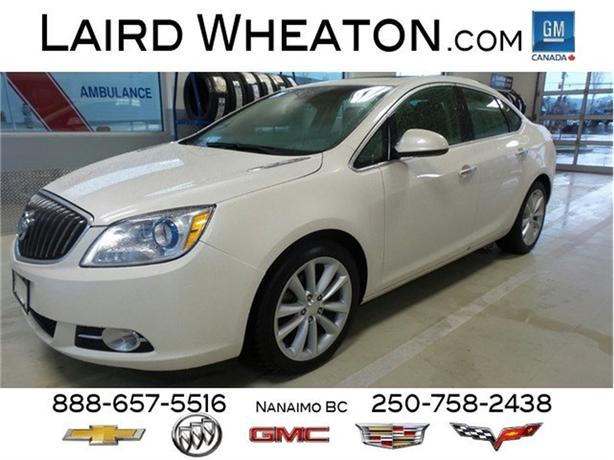 2016 Buick Verano Leather, Sunroof, Back-Up Camera