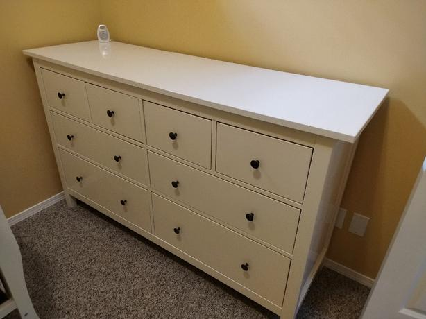 Ikea Dresser and Nightstands