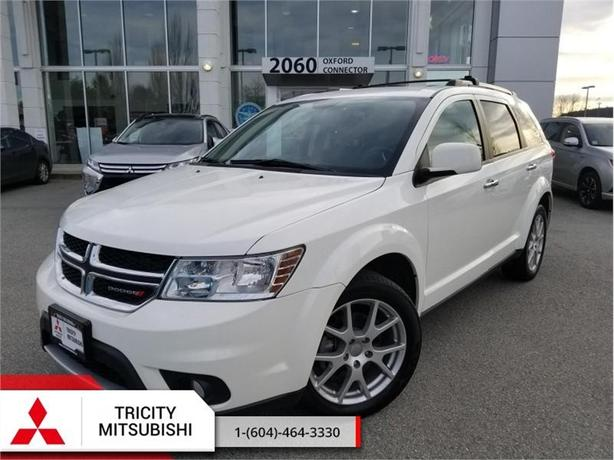 2017 Dodge Journey GT  - AWD LEATHER, 7 PASSENGER