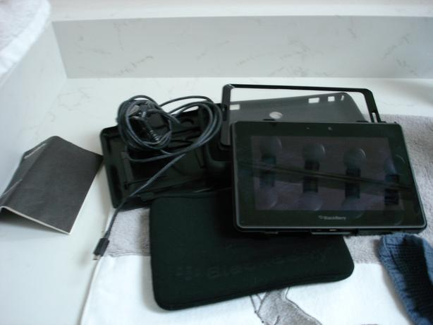 Blackberry Playbook c/w Otter Case