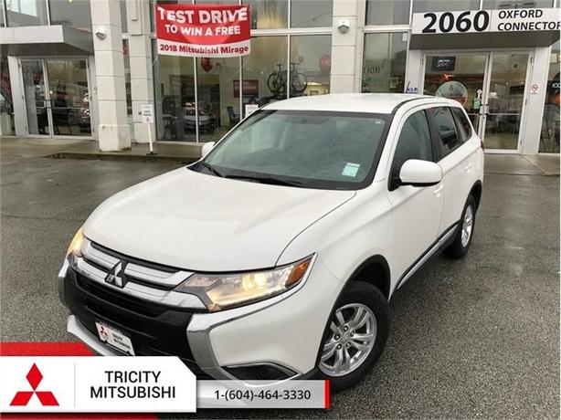 2016 Mitsubishi Outlander ES  - AWC, HEATED SEATS, BACK UP CAMERA