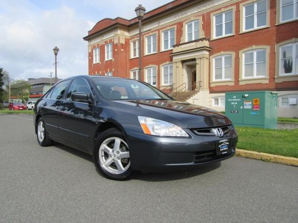 2004 Honda Accord EX-L, 115,000kms! Leather, Sunroof