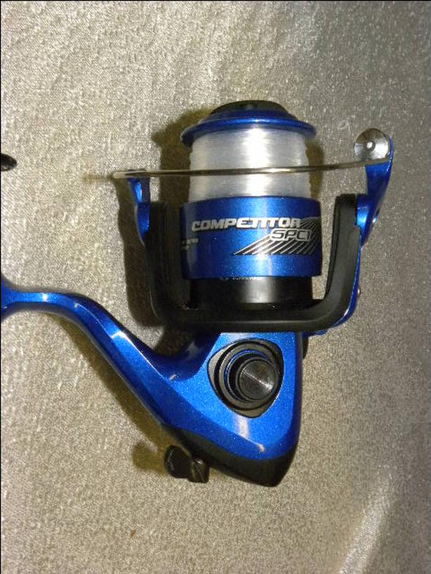 #158870-19 NEW Danielson Competitor SPC1 baitcaster rod and reel combo