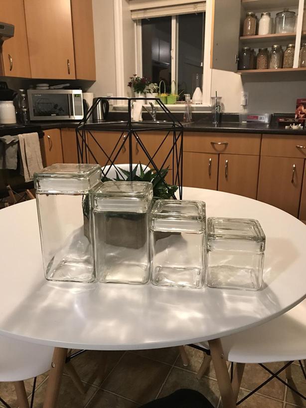 20 Pantry jars OBO