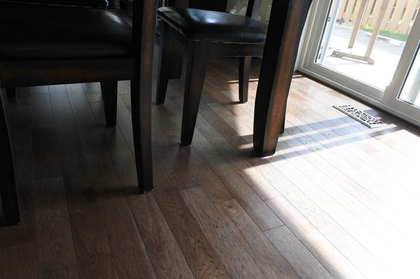 Solid Hardwood flooring Hickory Expresso