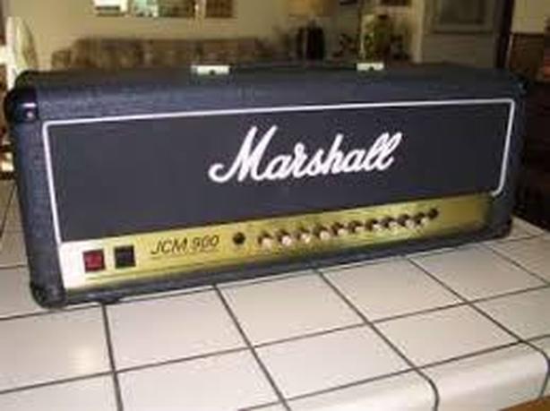 JCM 900 100 Watt Hi Gain Dual reverb amp head