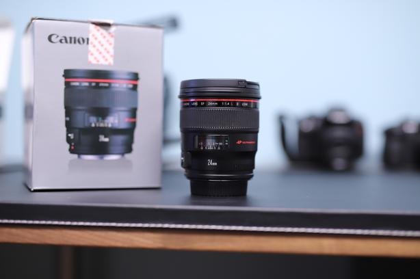 Brand New! Canon EF 24mm f/1.4L II USM Wide Angle Lens
