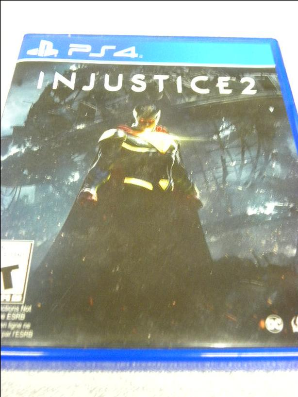 #159254-18 Injustice 2 game for the PS4 game console