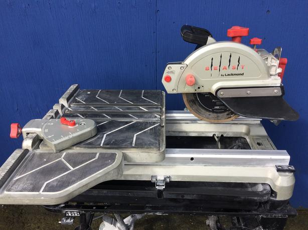 "Lackmond BEAST Wet Tile Saw - 10"" Portable Jobsite Cutting Tool"