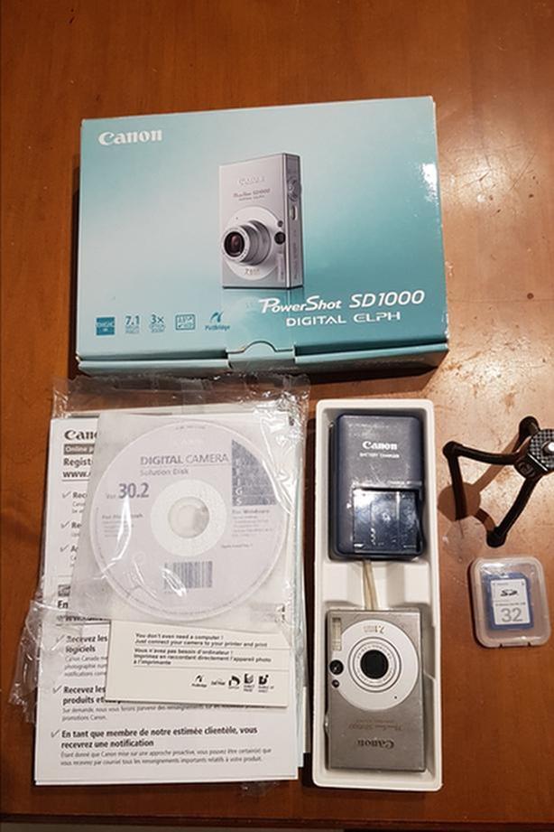 PowerShot SD1000