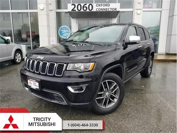 2017 Jeep Grand Cherokee Limited  - LEATHER, BACK UP CAM, REMOTE START
