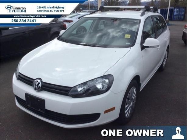 2013 Volkswagen Golf Wagon Comfortline  - one owner