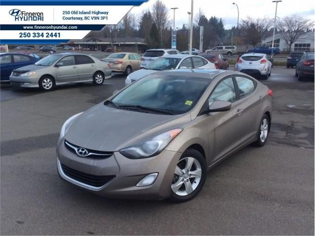 2013 Hyundai Elantra GLS  Bluetooth, Air Conditioning, Certified