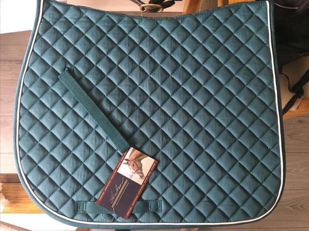  Log In needed $20 · Shedrow Quilted Cotton Saddle Pad - Turquoise
