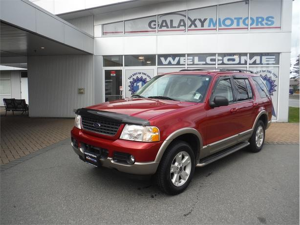 2003 Ford Explorer EDDIE BAUER - Leather, Hitch Receiver, 17in Alloys