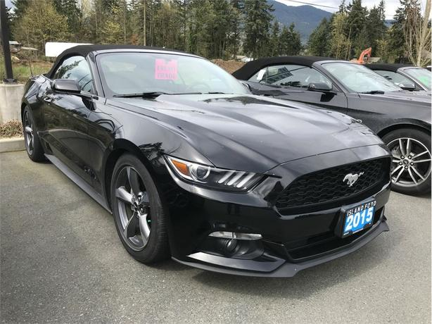 2015 Ford Mustang Roush Suspension, Dual Climate Control, Convertible
