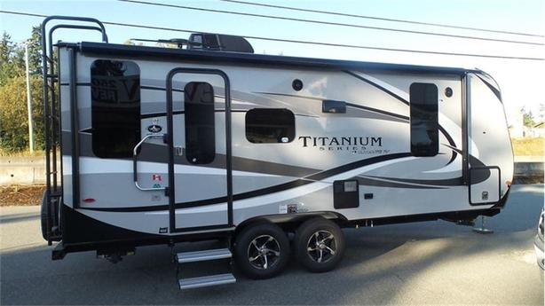 2018 Outdoors RV Titanium Creek Side 20FQ -