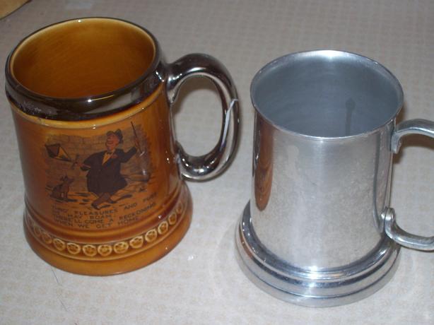 Antique Beer Steins