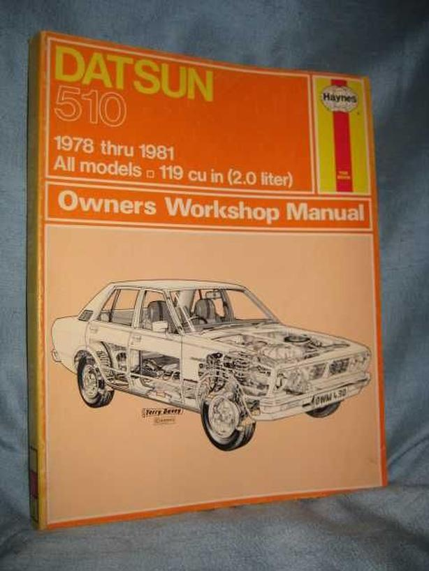 ★ 1978 - 1981 Datsun 510 Repair Service Manual ★