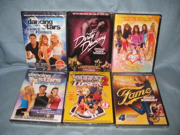 ★ Fitness Cardio Workout DVD's BRAND NEW ★