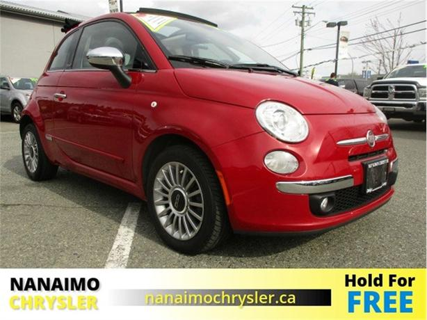 2012 FIAT 500c Lounge One Owner No Accidents