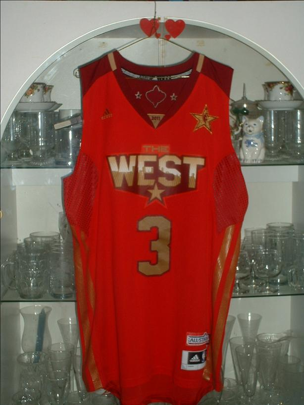 finest selection 614ad 184bb  Log In needed $75 · WEST ALL STAR BASKETBALL JERSEY 2011 PLAYER #3 CHRIS  PAUL.