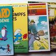 5 livres de Bande dessinée (cartonné)/ 5 French comic books