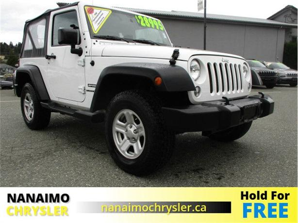 2016 Jeep Wrangler Sport One Owner No Accidents