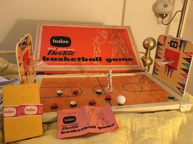 1940's Electric Basketball Game