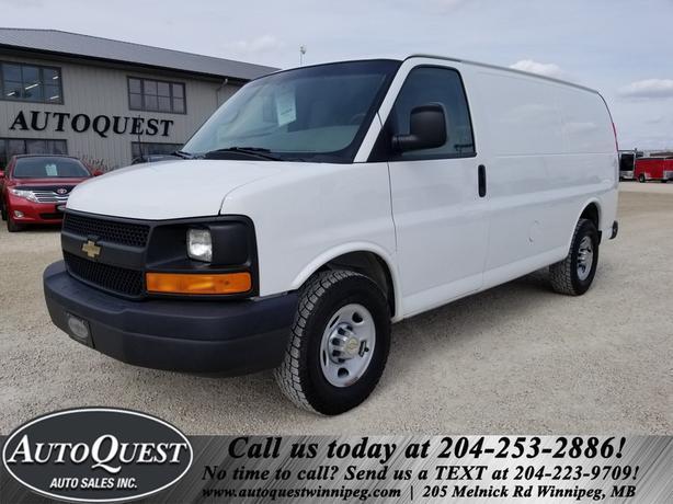 2012 Chevrolet Express 2500 Cargo Van - RWD 4.8L Vortec!