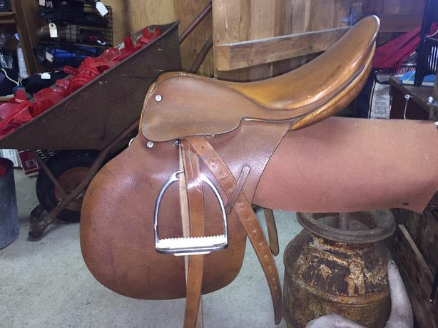 JA Barnsby & Sons All Purpose English Saddle