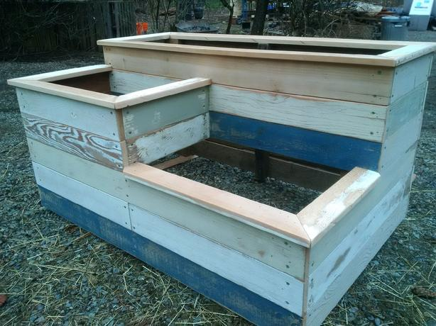 Log In Needed 230 Reclaimed Wood Planter Boxes