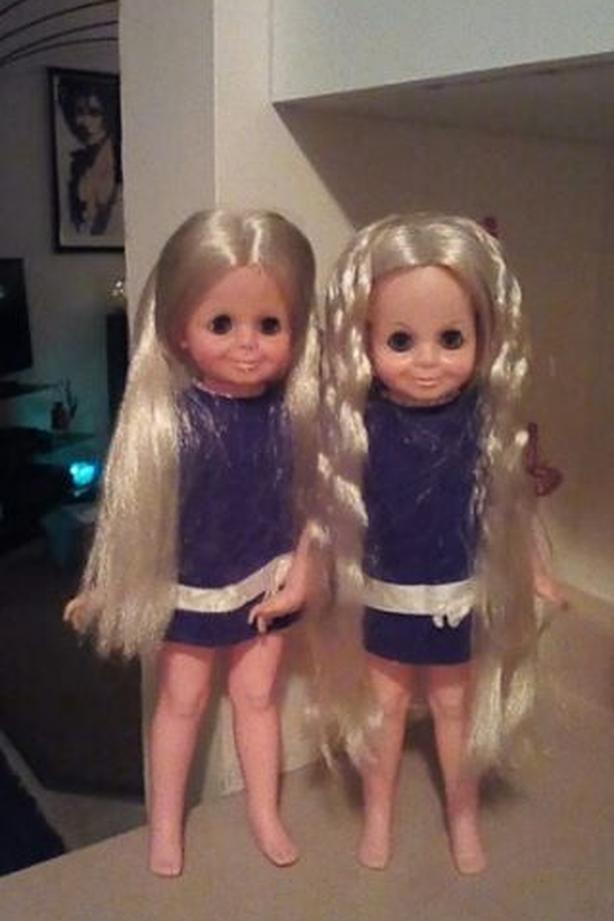 1969 ideal velvet dolls