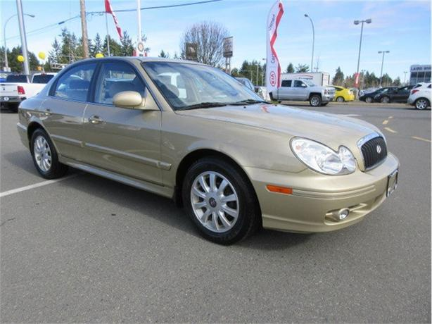 2003 Hyundai Sonata GL Low Kilometers One Owner