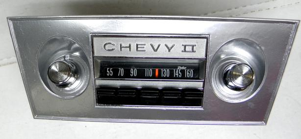 1966 1967 Chevy II Nova Delco AM Radio Chevrolet