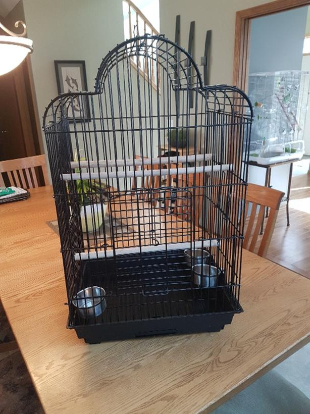 Large Contemporary Bird Cage