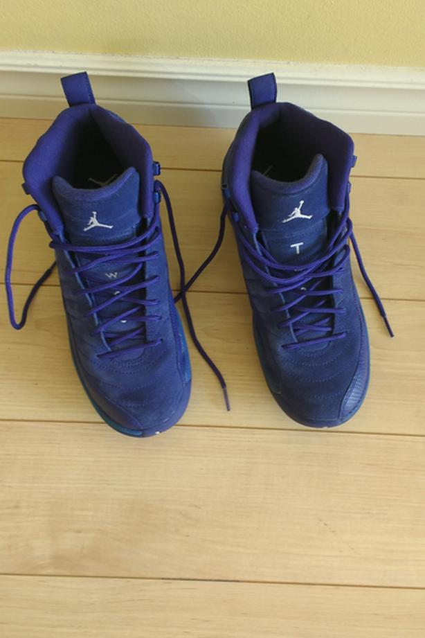 d1593bebafe1 Nike Air Jordan 12 Retro XII Deep Royal Blue Suede size 6.5 M ...