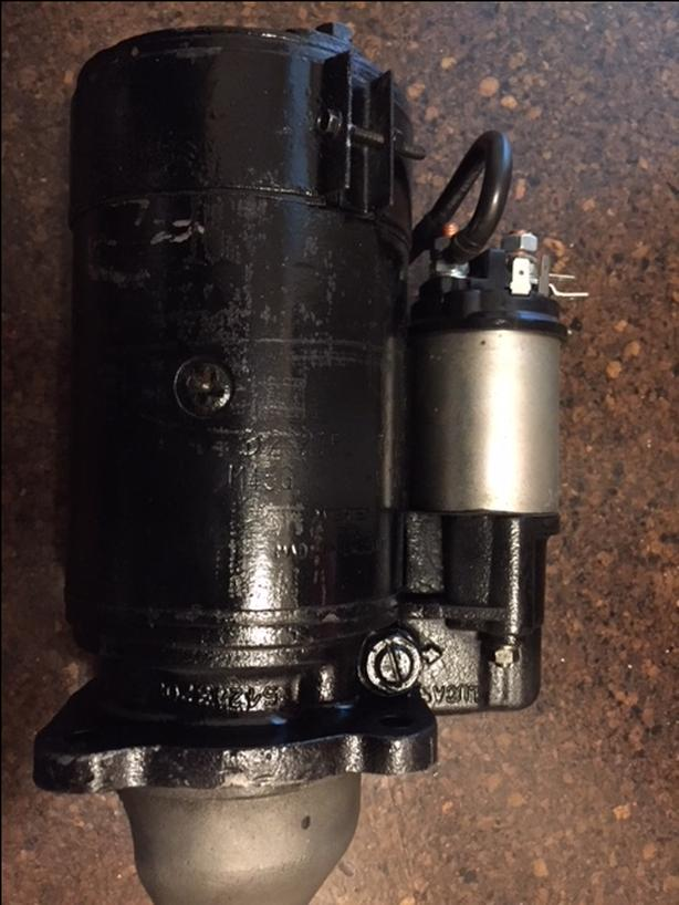 Starter motor for 4 108 Perkins Victoria City, Victoria